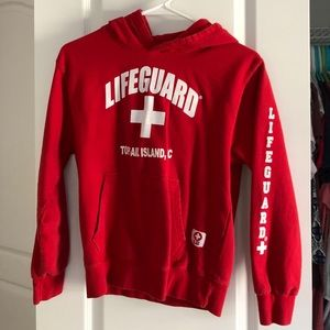 Other - Red Lifeguard Hoodie